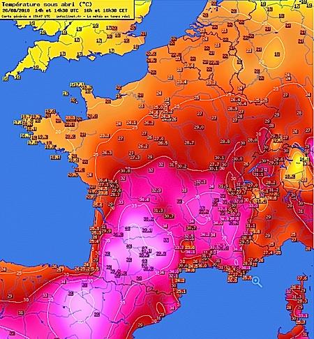 Les chroniques m t o de l 39 ann e 2010 meteo montpellier - Meteo agricole montpellier ...