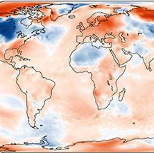 Le trimestre Décembre -Janvier - Février 3ème le plus chaud dans le monde