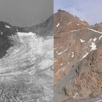 Sarennes - l'agonie d'un glacier de référence